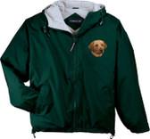 Chocolate Labrador Retriever Hooded Jacket