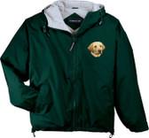 Yellow Labrador Retriever Hooded Jacket