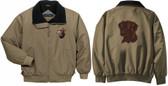 Chocolate Labrador Retriever Jacket