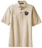 Black Labrador Retriever Polo Shirt