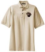 Chocolate Labrador Retriever Polo Shirt