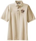 Yellow Labrador Retriever Polo Shirt