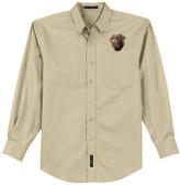Chocolate Labrador Easy Care Shirt