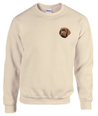 Chocolate Labrador Retriever Crewneck Sweatshirt