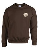 Yellow Labrador Retriever Crewneck Sweatshirt