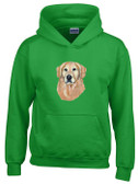 Golden Retriever Hooded Sweatshirt
