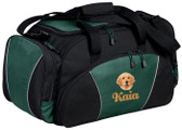 Golden Retriever Duffel Bag