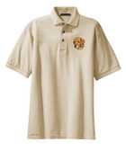 Golden Retriever Polo Shirt