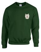 West Highland Terrier Westie Crewneck Sweatshirt