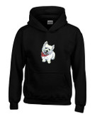 West Highland White Terrier Hooded Sweatshirt