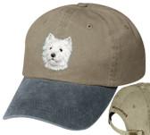 West Highland White Terrier Cap