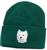 West Highland White Terrier Knit Cap