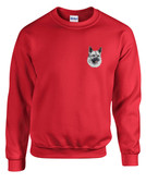 Norwegian Elkhound Crewneck Sweatshirt