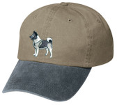 Norwegian Elkhound Cap