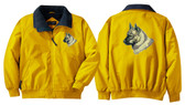 Norwegian Elkhound Jacket Front & Back