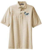 Norwegian Elkhound Polo Shirt