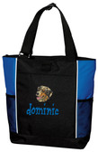 Australian Shepherd Tote Font shown on bag is BEDROCK