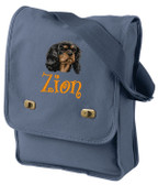 Cavalier King Charles Field Bag Font shown on bag is BOING