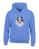 Shetland Sheepdog Sheltie Hooded Sweatshirt