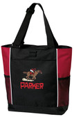 Horse Racing Tote Bag