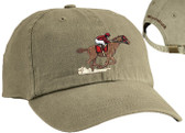 Horse Racing Cap and Lettering