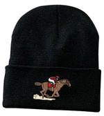 Horse Racing Knit Cap