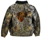 Dachshund Jacket Back