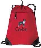 Boston Terrier Bag Font shown on bag is JOKERS WILD