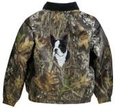 Boston Terrier Jacket Back