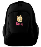 Norwich Terrier Backpack Font shown on bag is LANCER