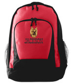 Yorkshire Terrier Backpack Font shown on bag is WESTERN BAR
