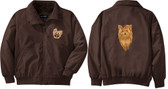 Yorkshire Terrier Jacket Front Left Chest & Back