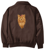 Yorkshire Terrier Jacket Back