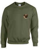 Pug Crewneck Sweatshirt