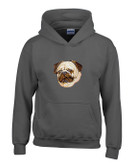 Pug Hooded Sweatshirt