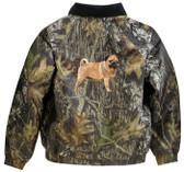 Pug Jacket Back