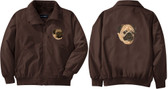 Pug Jacket Front Left Chest & Back