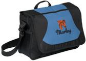 Arabian Messenger Bag Font shown on bag is LAVERNE