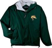 Arabian Hooded Jacket Front Left Chest