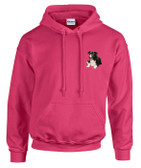 Border Collie Hooded Sweatshirt