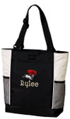 Border Collie Tote Font shown on bag is ARGENTINA