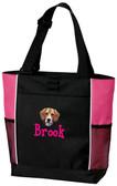 Beagle Tote Font shown on bag is BOYZ