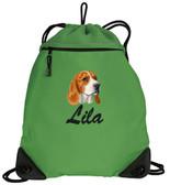 Beagle Bag Font shown on bag is BRUSH