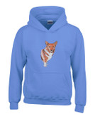 Corgi Hooded Sweatshirt