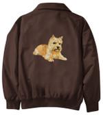 Norwich Terrier Jacket Back