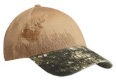 Embroidered Deer Camouflage Cap