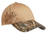 Embroidered Bass Camouflage Cap