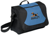 Airedale Terrier Bag Font shown on bag is GROOVY