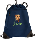Airedale Terrier Cinch Bag