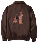 Airedale Terrier Jacket Back